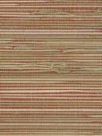 Natural Grasscloth Wallpaper-Red Bathroom, Wallpaper, Natural, Red, Washroom, Full Bath, Wallpapers, Bath, Bathrooms