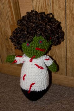 Made to Order Zombie doll for sale on etsy for $20