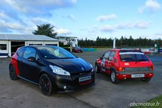 Peugeot 208 GTi 30th  et 205 GTi