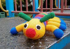 Baby knitting patterns: Crawley Caterpillar by Ann Franklin, download on LoveKnitting