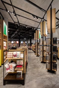 New shop inside the Tate Modern extension designed by UXUS