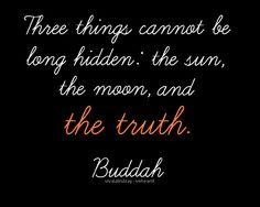 buddha had it right