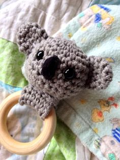 For an easy to read, ad-free PDF, buy this pattern for only $1.99! Or buy all 5 Jungle Animals Teething Rings for only $5.00. That's just $1.00 per pattern! My sweet little nephew has been teething. Poor guy! It's never fun to watch your little one gnawing on everything and not getting relief. So when … … Continue reading →