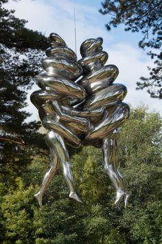Tony Cragg,. Ekebergparken Sculpture Park.