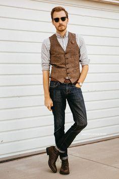 March 28, 2014. Vest: Ludlow Herringbone Wool - J. Crew - $73.50...