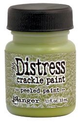 Tim Holtz™ Distress Crackle Paint™- We think is one of Tim's most underrated products! Have a look and see what it can do for your project!  http://rangerink.com/?ranger_project=tim-holtz%E2%84%A2-distress-crackle-paint%E2%84%A2