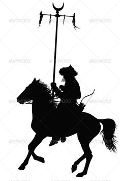 Vector Horseman #GraphicRiver Medieval oriental warrior on horseback detailed vector silhouette. Created: 6February13 GraphicsFilesIncluded: JPGImage #VectorEPS Layered: No MinimumAdobeCSVersion: CS Tags: ancient #animal #archer #arrow #battle #bow #chief #dead #east #fight #golden #horde #horse #horseback #knight #lance #leader #legend #man #medieval #mongolia #mongolian #oriental #rider #samurai #set #silhouette #turkish #vector #vintage