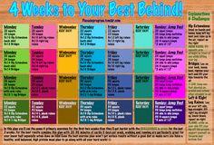 4 Week Workout Plan