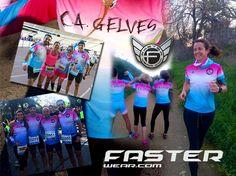 El club de Atletismo Gelves de sevilla estuvo presente en la Media Maratón de Sevilla con sus nuevas prendas personalizadas Faster Wear.