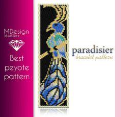 Paradisier Peyote Pattern  MDesign by MDesignJewellery on Etsy, zł11.70