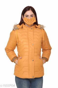 Jackets Womens Detachable Collar Orange Buttoned Jacket With Face Cover Fabric: Nylon Sleeve Length: Long Sleeves Pattern: Self-Design Multipack: 1 Sizes:  XL (Bust Size: 42 in Length Size: 30 in)  L (Bust Size: 40 in Length Size: 29 in)  M (Bust Size: 38 in Length Size: 29 in)  XXL (Bust Size: 44 in Length Size: 31 in)  XXXL (Bust Size: 46 in Length Size: 31 in)  Country of Origin: India Sizes Available: M, L, XL, XXL, XXXL   Catalog Rating: ★4 (435)  Catalog Name: Trendy Elegant Women Jackets & Waistcoat CatalogID_1794511 C79-SC1023 Code: 5331-10037104-2973