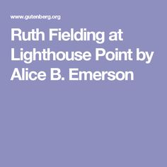 Free kindle book and epub digitized and proofread by Project Gutenberg. Free Kindle Books, Emerson, Lighthouse, Fields, Alice, Bell Rock Lighthouse, Light House, Lighthouses
