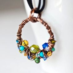 Mayahelena Jewelry - Unique Handcraftd Wire Wrapped Jewelry Beautiful beaded look; Men's Jewelry Rings, Resin Jewelry, Cute Jewelry, Wire Wrapped Jewelry, Boho Jewelry, Pendant Jewelry, Bridal Jewelry, Jewelry Art, Beaded Jewelry