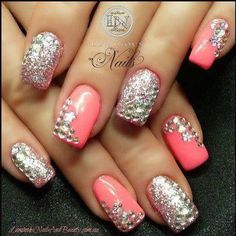 sparkly & pink