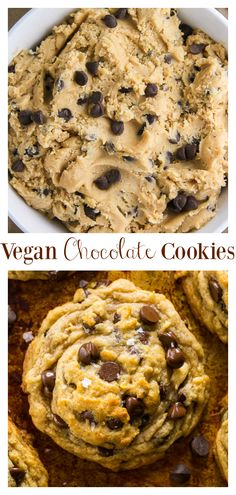 The BEST Vegan Chocolate Chip Cookies in the World!