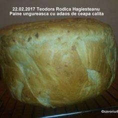Paine de casa traditionala ungureasca | Savori Urbane Food And Drink, Bread, Cabana, Healthy Food, Bread Baking, Essen, Brot, Cabanas, Baking