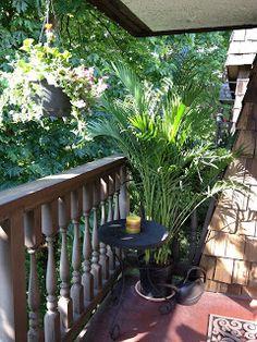 Stonehaven Simple Pleasures: Condo Balcony Privacy