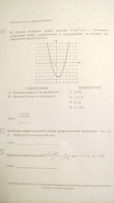 Подготовка к ОГЭ-2015. СтатГрад. Вариант МА90602 » математика дома