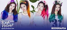 """Red Velvet é um girlgroup sul-coreano, gerenciado pela S.M. Entertainment,  criado em 2014. O grupo consiste em quatro integrantes: Irene, Wendy, SeulGi e Joy. Elas debutaram com o single digital """"Happiness"""" em 1º de Agosto de 2014, o qual chegou a fazer um sucesso moderado na Coreia do Sul. Com apenas 5 meses após o debut, Red Velvet ganhou seu primeiro prêmio no Golden Disk Awards, considerado o Grammy coreano, na categoria """"New Artist Award""""."""