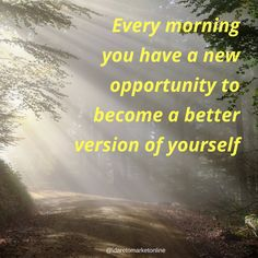 Every morning you have a new opportunity to become a better version of yourself. Happy a Wonderful Friday!  #startup #takeaction #success #workfromhome #homeworking #enterpreneur #motivation #lifegood #fridayfeeling