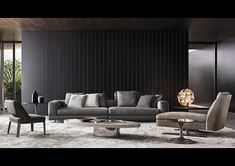 White | Minotti | NY Interior Designer Jared Epps jaredshermanepps.com