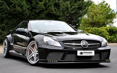 Mercedes Benz SL Black Series Conversion. Facelift conversion for SL500,  SL55, SL65, SL600 and SL63 AMG  Prior Design is now offering a Black Edition Conversion for you SL Mercedes.  This kit can be used on all SL models 2003-2011.  This is a super high quality kit with perfect fitment.  Our kit sets a new level of perfection for aerodynamic tuning companies.     Prior Design is a German Aerodynamic Company Designing and Manufacturing Body Kits and Wheels for European Cars.  For more…