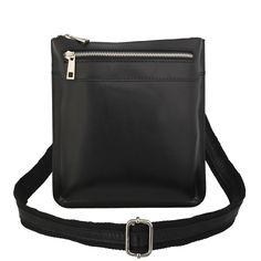 Shoulder bag : CAMERON UNISEX ITALIAN LEATHER MESSENGER BAG