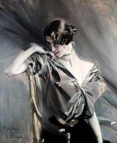 Giovanni Boldini - Cleo de Merode