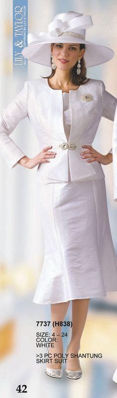 Elegant First Lady Church Suit - SALE $249.00 | Church Wear ...