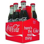 Coca-Cola 6-Pack Bottle in Case