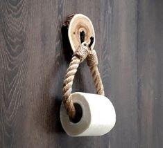 Porte papier toilette... Bois darbre de couper en tranches... | Etsy