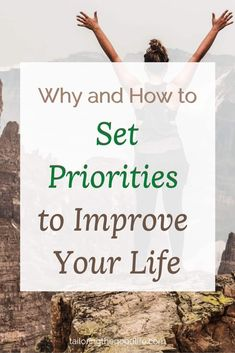 Read why and how to set your daily priorities for reaching your goals. With a free printable to plan your day, when you know the tasks you need to prioritize Can Plan, Make A Plan, Daily Routine Schedule, Daily Routines, Priorities List, Raising Teenagers, Planning Your Day, Household Chores, Busy Life