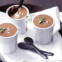 Recept - Chocolademousse met rozemarijn - Allerhande