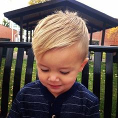 Boys hair cut