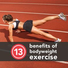 13 Reasons to Start Bodyweight Training Today