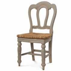 Napoleon Dining Chair W/ Rushseat