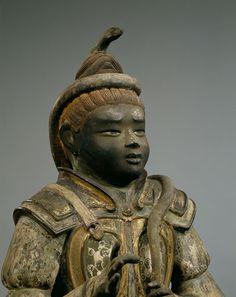 国宝 沙羯羅立像 734年 撮影:金井杜道 (c)興福寺