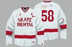 Nike SB Sole: Nike SB Dunk and Skate Mental Clothing Collaboration