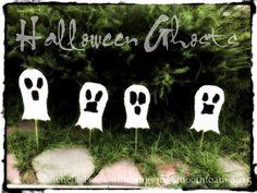 smoothfoam halloween ghosts