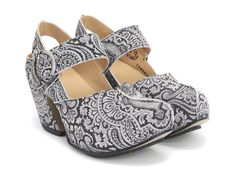make anything look cool with John Fluevog paisley...LOVE