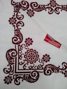 Cross Stitch Books, Cross Stitch Borders, Crochet Borders, Crochet Stitches Patterns, Cross Stitching, Cross Stitch Embroidery, Cross Stitch Patterns, Palestinian Embroidery, Bargello