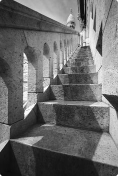 sacre coeur stairs, Paris Looks like another of my lost photos from my trip to Paris with Mom 2009...wish there was a way to get them back.