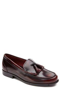 Rockport+Leather+Tassel+Loafer+(Men)+available+at+#Nordstrom