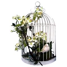 17-in. Birdcage with Mirror