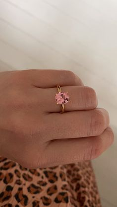 Beautiful engagement rings from Anpé Atelier Cph Perfect for those looking for a colorful twist on a classic design. Colored Engagement Rings, Beautiful Engagement Rings, Fine Jewelry, Women Jewelry, Jewellery, Unique Jewelry, Ring Bracelet, Ring Earrings, Pink Dirt Bike