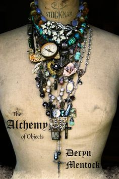 Deryn Mentock  online jewelry making class The Art of Alchemy  http://somethingsublime.typepad.com/jewelry_works/the-alchemy-of-objects.html