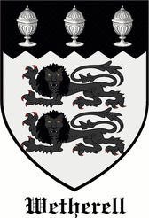 Wetherell family crest