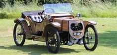 Arabelle's car - a 1913 Morgan quadricycle