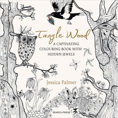 Tangle Wood Adult Coloring Book ColoringColoring Books