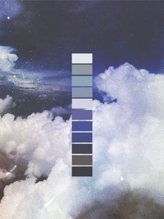 Cloud Swatching | VSCO Grid